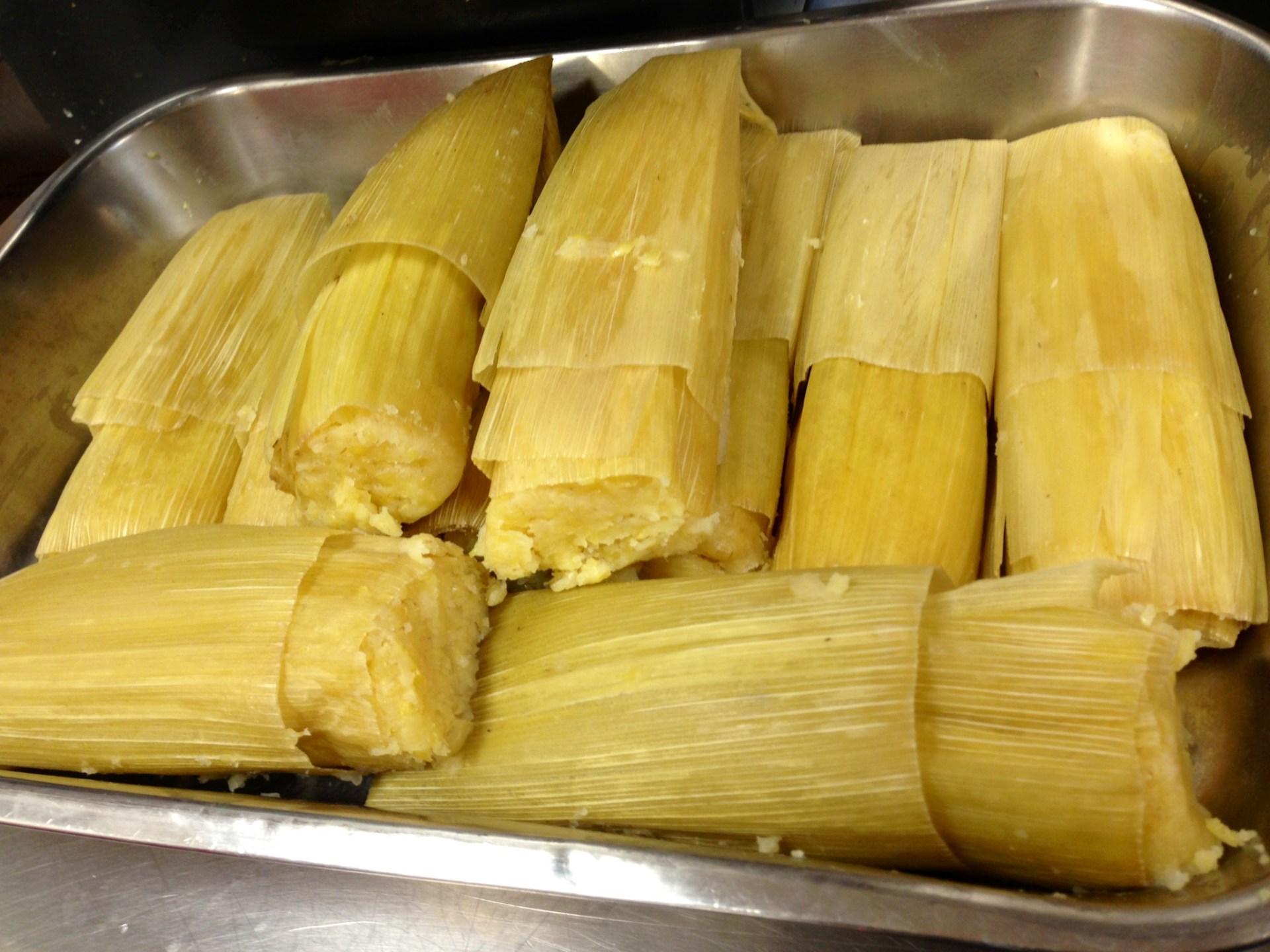 Tamales de Elote